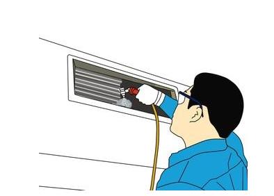 自己清洗空调